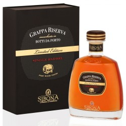 Sibona Riserva Port Wood Single Barrel 0,5l