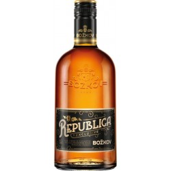 Božkov Republica Exclusive Dark 38% 0,5l